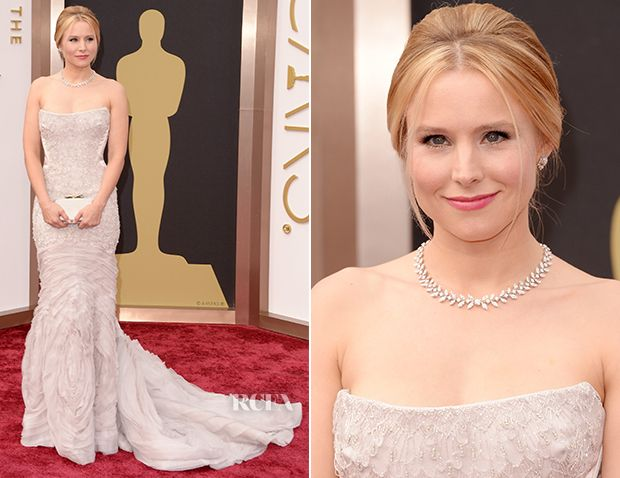 Kristen Bell In Roberto Cavalli – Oscars 2014