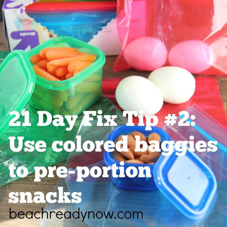 21 Day Fix Tip #2