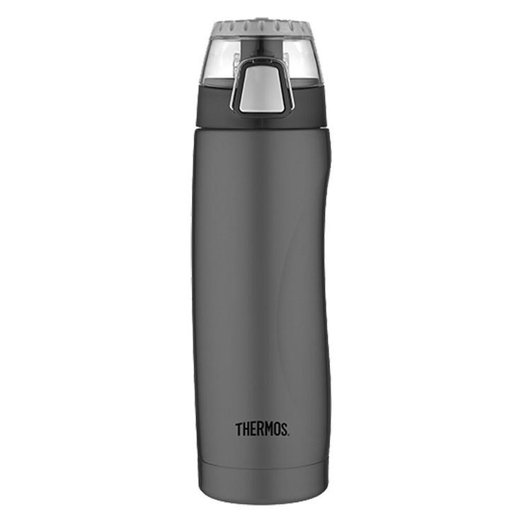 Thermos Vacuum Insulated Hydration Bottle w/Meter - 18 oz. - Charcoal