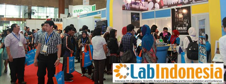 Indonesia 4th Laboratory, Scientific Analytical Equipments and Services Exhibition and Conference. #expoindonesia