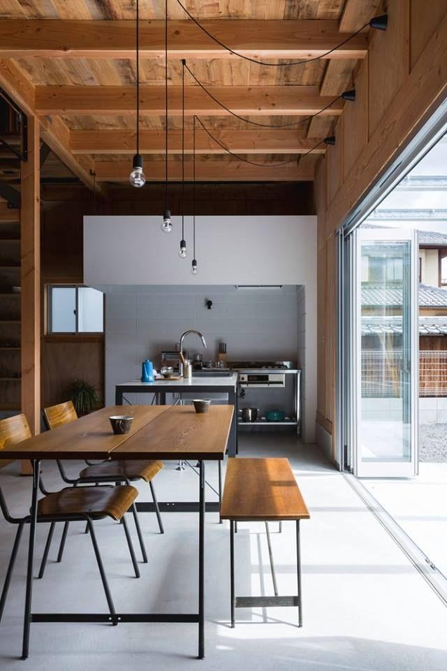Ishibe House is a minimalist residence located in Shiga, Japan