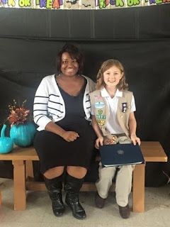 Girl Scout Silver Award Project about food allergy awareness