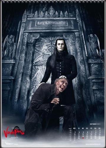 "Drew Sarich as ""Von Krolock"" and the Count's hunchback servant, Koukol"