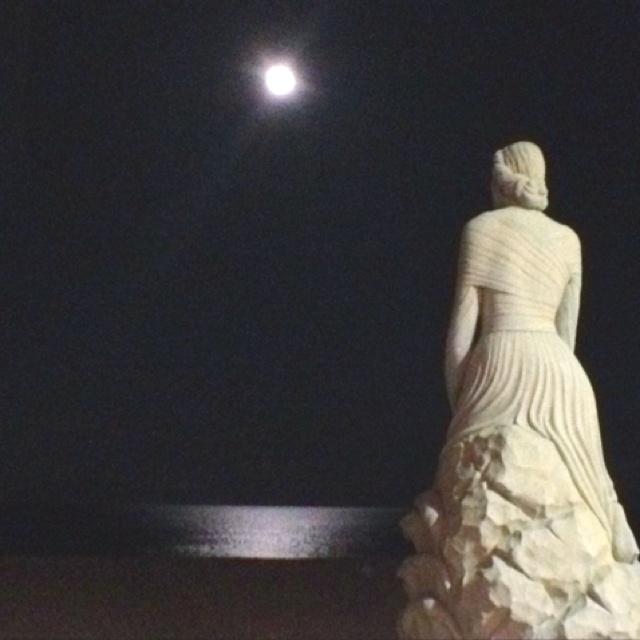 The Lady by the Sea. Hampton Beach NH.