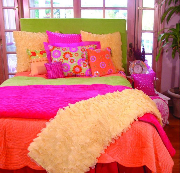 Teen Boy Bedding | Our Products : Girls Bedding > Citrus Tang Girls Bedding