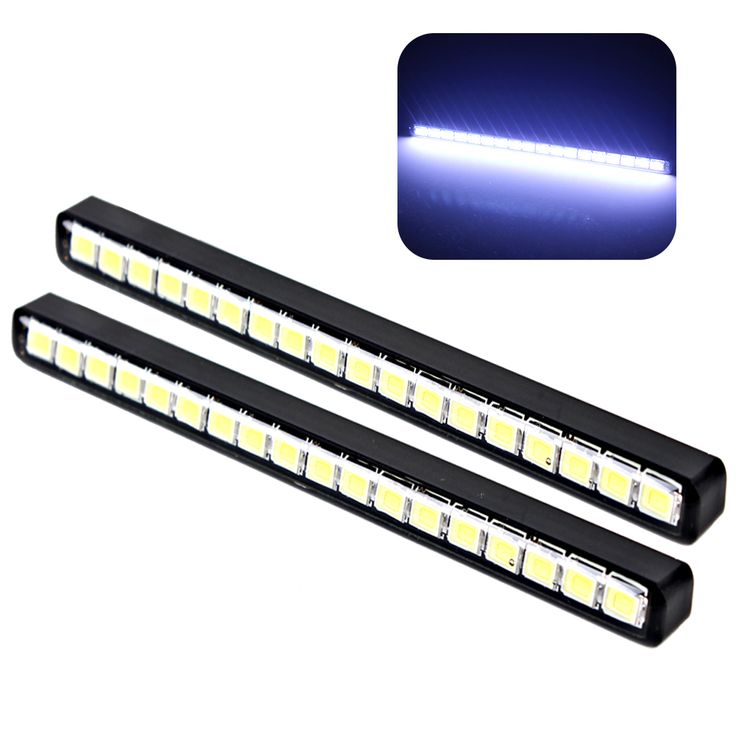 Waterproof Car daytime LED light  Auto Daylight Car Styling DRL 18 LEDs Car Daytime Running Lights