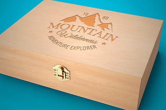 Download Wood Box Mockup Box Mockup Mockup Photoshop Colorful Backgrounds
