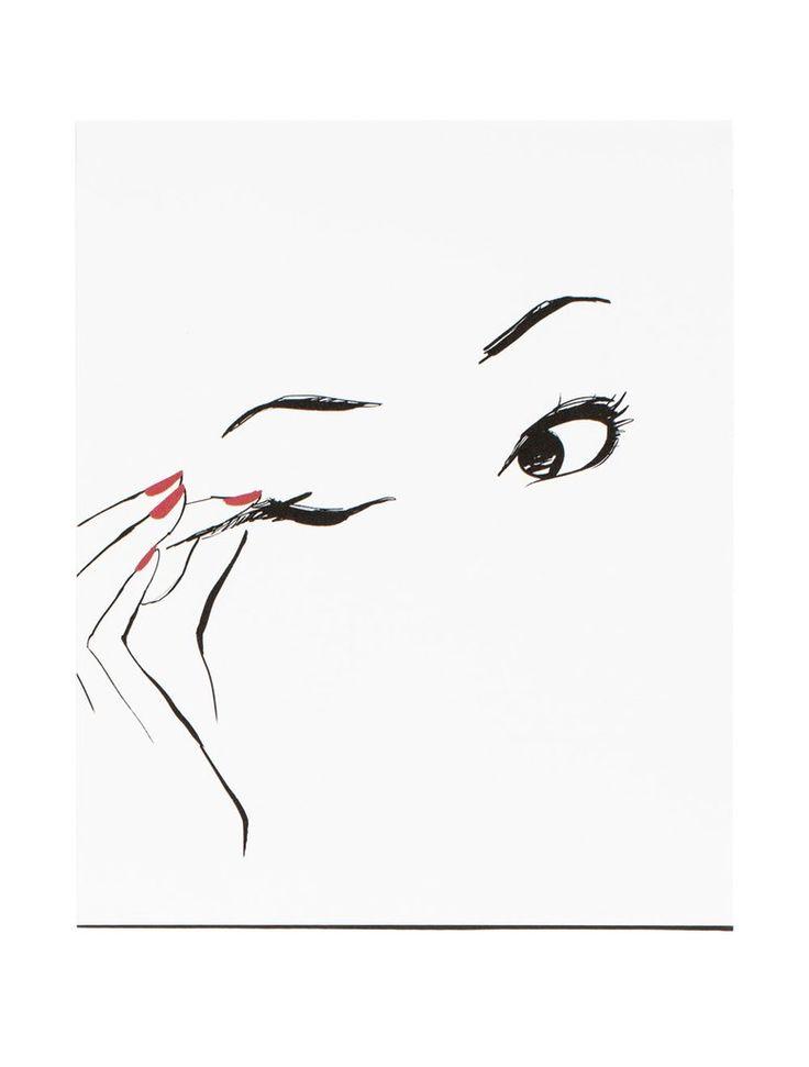 Eyeliner Poster art                                                                                                                                                                                 Mais