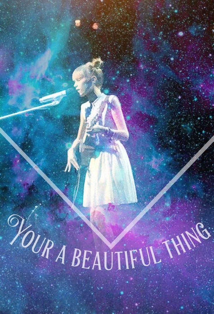 Beautiful Thing by Grace Vanderwaal... I like this picture. It is a beautiful thing. ;)
