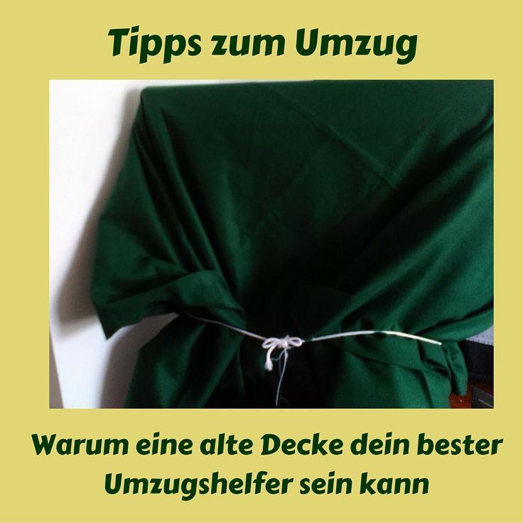 Tipps zum #umzug - Warum eine Decke dein bester Umzugshelfer sein kann #UsaBilligAberGutLeben