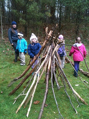 If only there were woods outside the Art Room door! Great article on exploratory outdoor play.