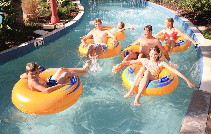 The Lazy River Pool | Palm Coast Beach Hotels | Hammock Beach Resort | Florida Luxury Resorts