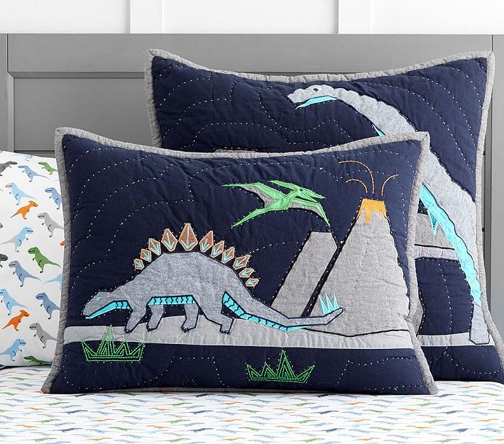 Warren Dino Quilt | Pottery Barn Kids