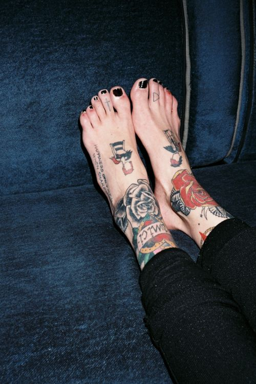 Sometimes I wish I could start over on my feet so I could do something like this..