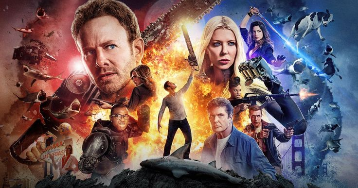 Sharknado Writer Has 3 More Sequels Planned -- Thunder Levin, who has written all four Sharknado movies, reveals that he has three more sequels ready to go out. -- http://movieweb.com/sharknado-4-writer-more-sequels/