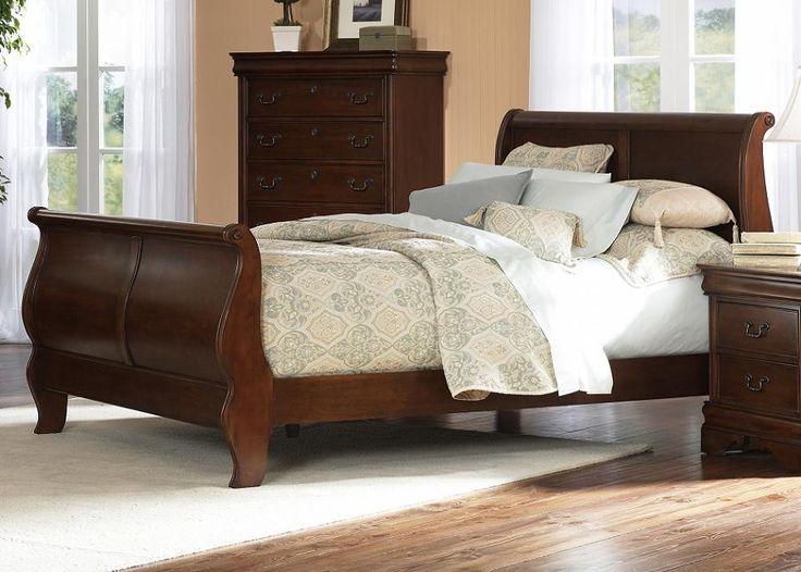 Bedroom Ideas Sleigh Bed best 25+ cherry sleigh bed ideas on pinterest | bedroom furniture