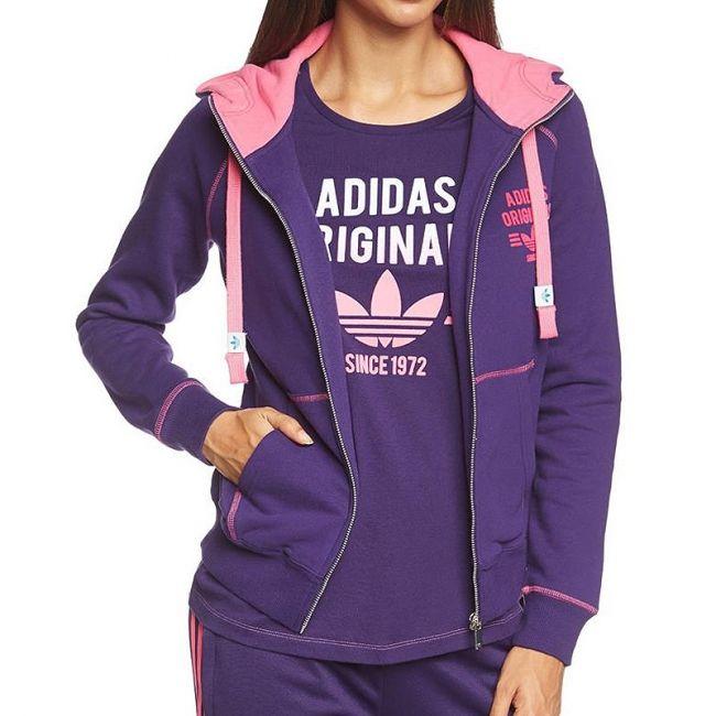 #adidas SUPER F ZIP HOODIE  E-shop CRISH.CZ   #Crishcz #women #sportswear