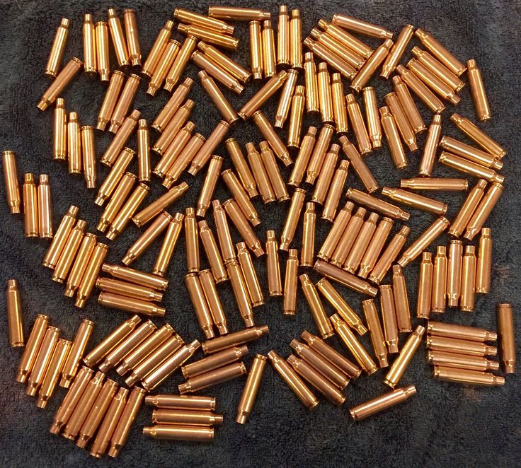 Empty 223 Brass Bullet Casings Cleaned & Polished - 150 pieces by CraftSuppliesDepot on Etsy