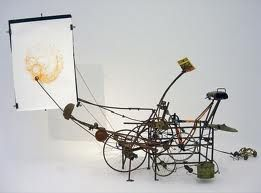 jean tinguely drawing machine