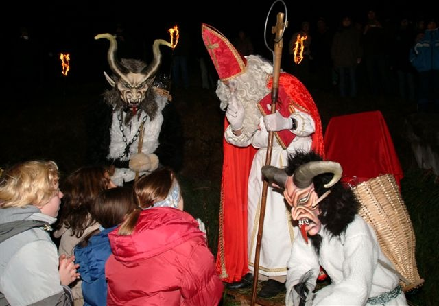 Go to Tarvisio and attend the traditional local celebration of St Nicolas!
