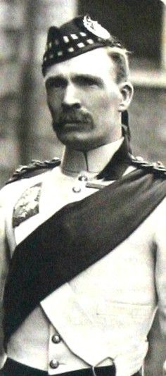 Sgt Major William Robertson VC Gordon Highlanders 21st October 1899 Elandslaagte South Africa(Boer War)