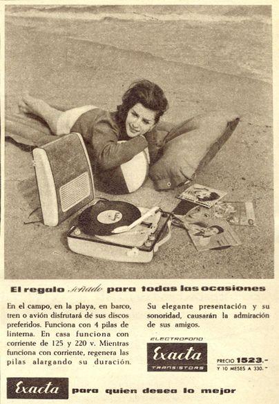 1961 exacta ad