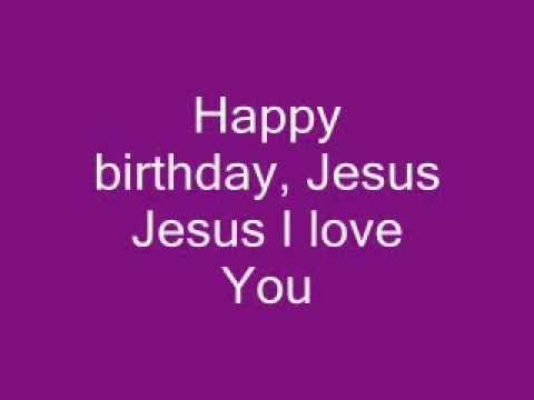 """HAPPY BIRTHDAY JESUS"" ..THIS IS OUR CHRISTMAS PLAY CLOSING SONG..LEVI..WOULD BE A EASY ONE FOR YOU TO REMEMBER.."