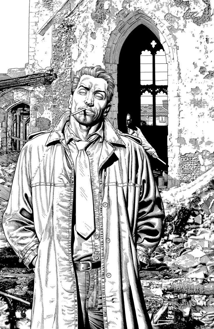 John Constantine by Brian Bolland