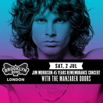 The Manzarek Doors special engagement and LOTS of Doors history for early June.