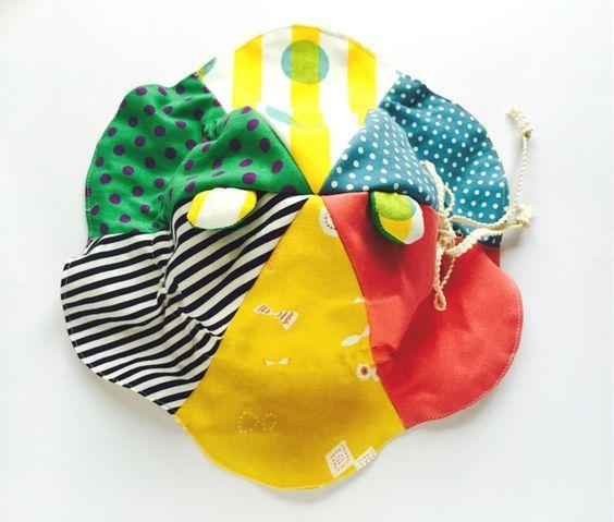 0歳から4歳ごろまでサイズ調整可能*くま耳チューリップハット | ハンドメイド、手作り作品の通販 minne(ミンネ)