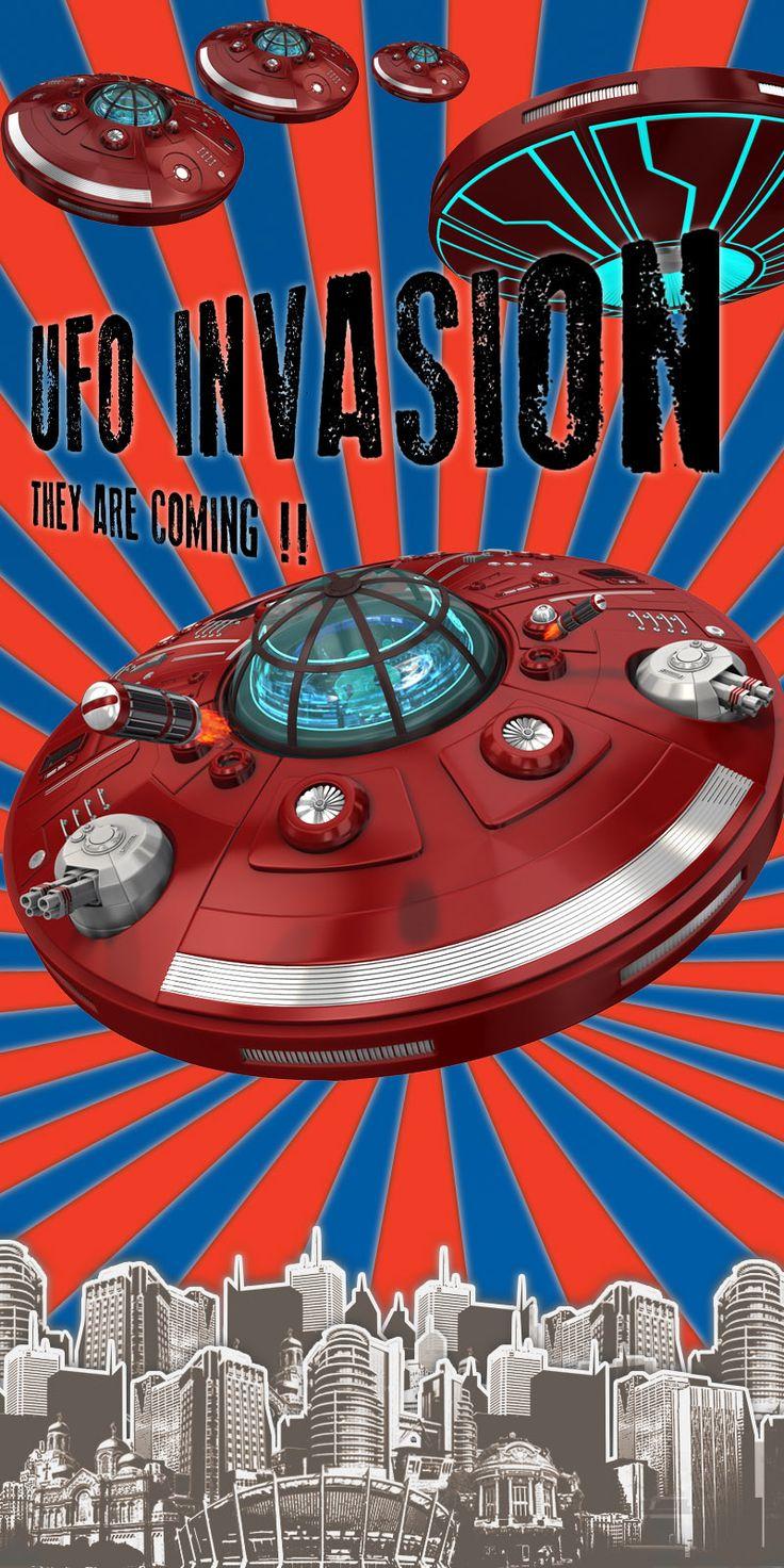 UFO invasion !