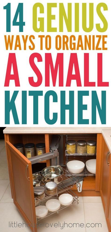 24 clever small kitchen organization ideas you need to try rh pinterest com