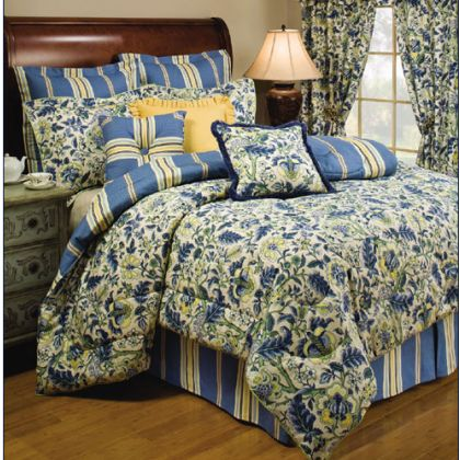 home decorating company has waverly imperial dress porcelain bedding queen bed comforters