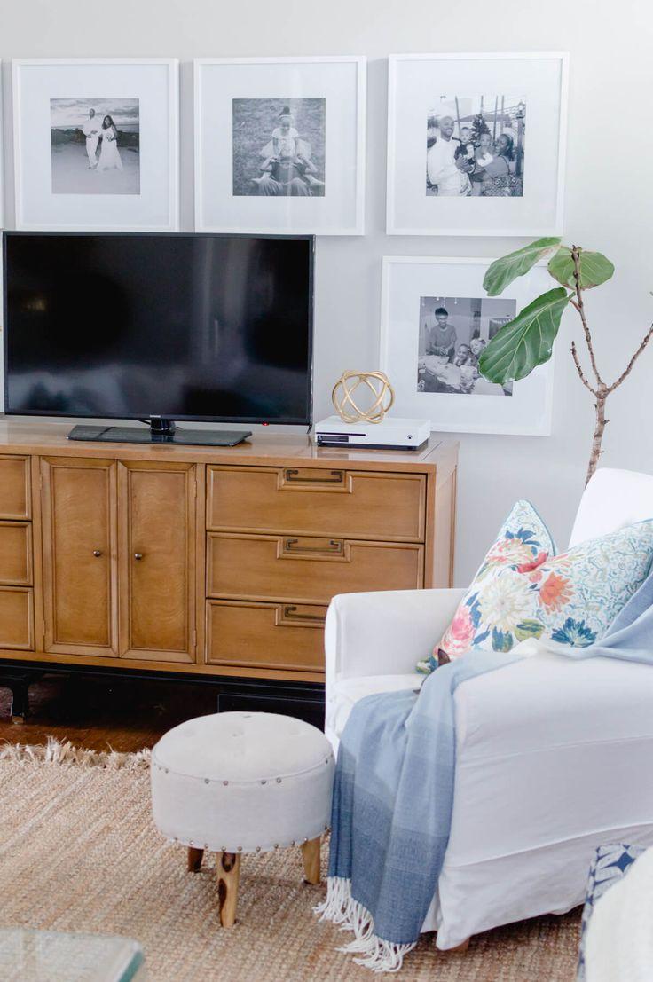 Best 25+ Decorating around tv ideas on Pinterest | Tv wall ...