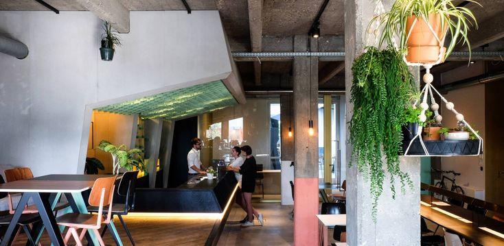 Het Antwerpse Eilandje is de thuis van SANBA, ruimte voor events die ook ontbijt, lunch en apero biedt in de sfeer van een Newyorks pakhuis.