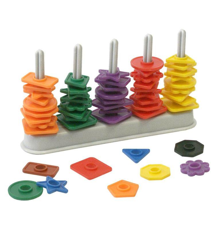 juguete educativo ábaco formas