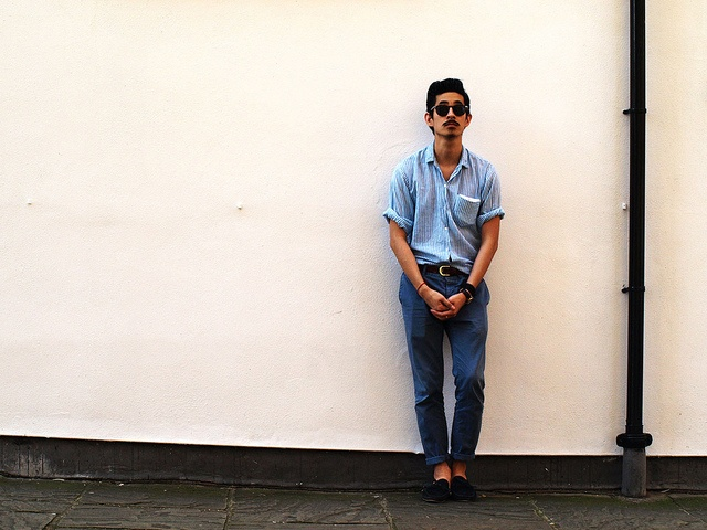 Good weather inspires me for shots, and menswear during the summer is definitely a time to be experimental.