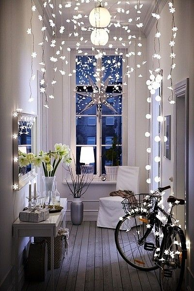 Ikea Christmas lights, not vintage but really super cool .