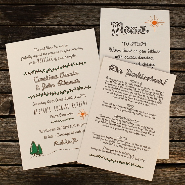 Artcadia Vintage Recycled and Letterpress Wedding