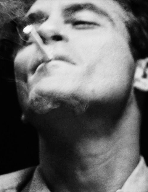 Joaquin Phoenix in The Master • Directed by Paul Thomas 2012 - Cigarette smoke still photographs so well.