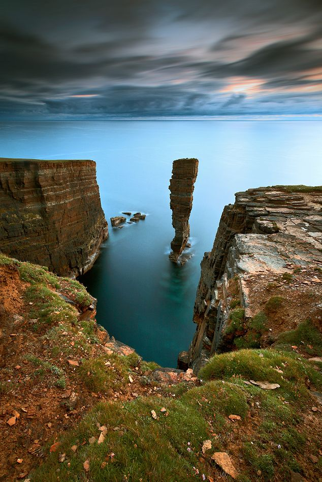 ✯ Old Man of Hoy, Orkney sea stack, Scotland