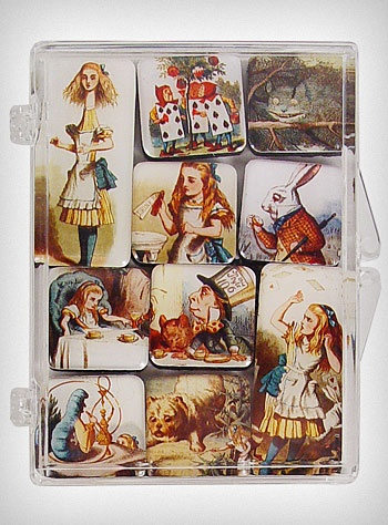 alice in wonderland magnets classy educated edition to anyone s rh pinterest com