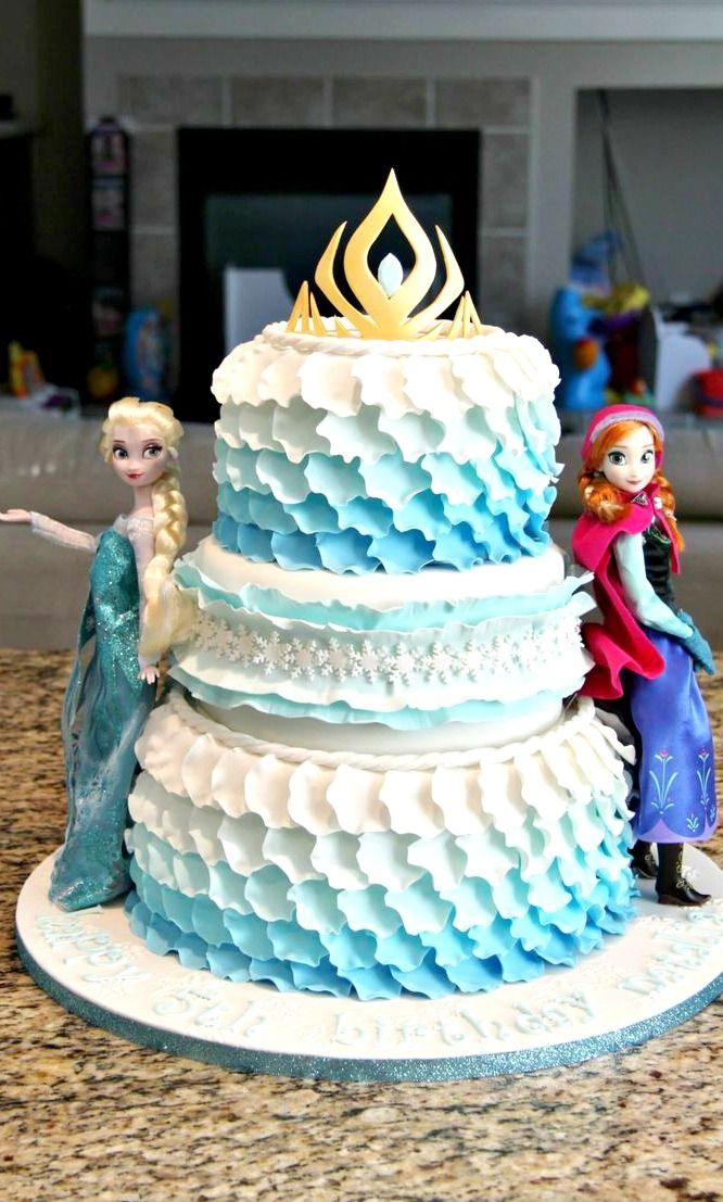 Elsa Doll Cake Decorations : 375 best images about Frozen Cakes & Treats! on Pinterest ...