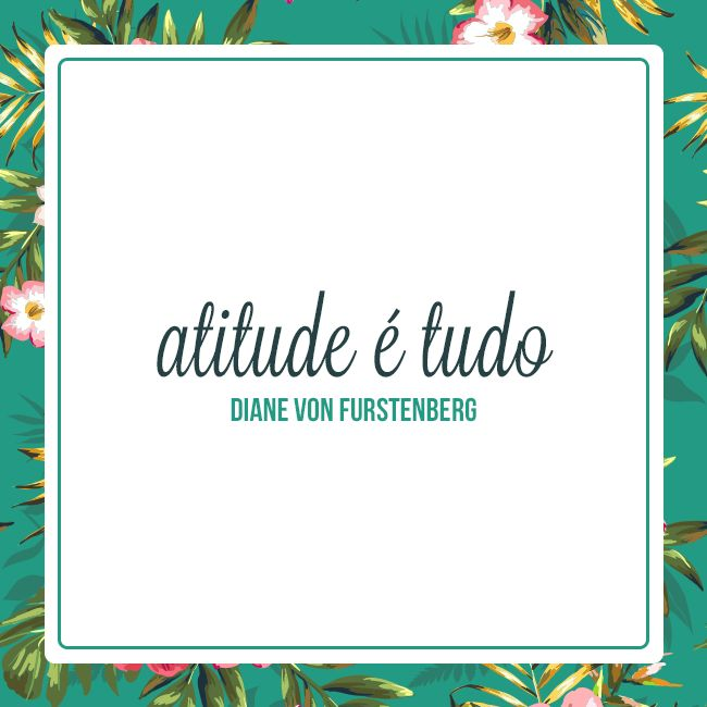 Attitude is everything! ♥ www.ilhadabeleza.com.br