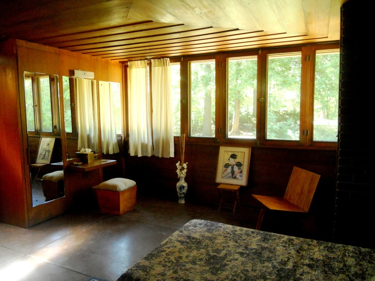 gregor affleck house flw usonian style bloomfield hills