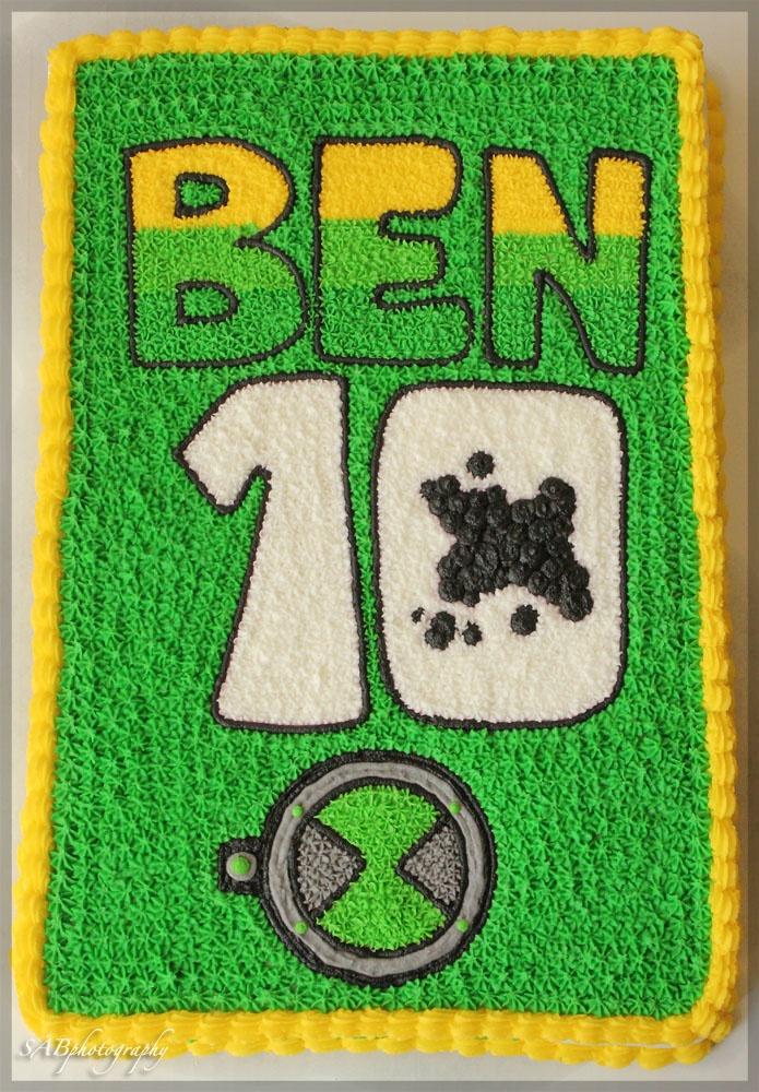 Ben 10 Cake!