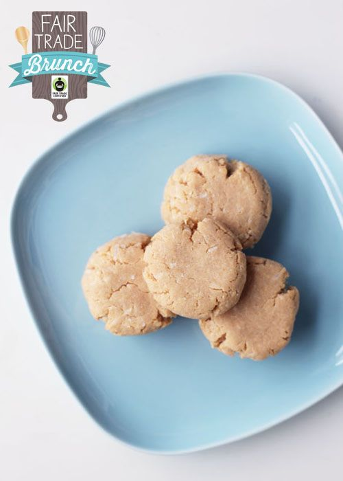 fairt trade gluten-free coconut lime shortbread from @janemaynard # ...