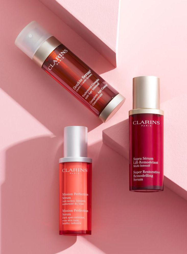This year, resolve to turn back the clock. A team of serums and moisturizers from Clarins work to reveal your best skin yet.