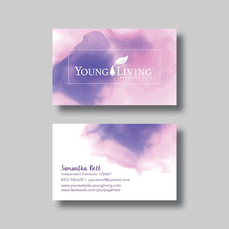 8 best young living essential oils images on pinterest young young living essential oils business card inked digital design by bellgraphicdesigns on etsy colourmoves