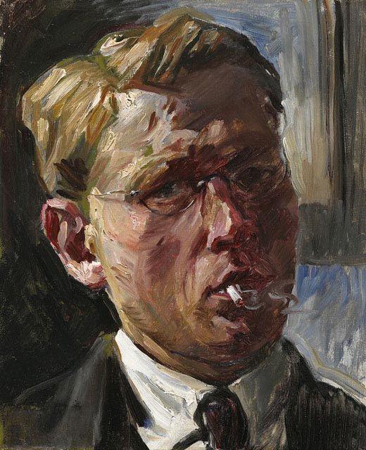 Eric Goldberg, Self-portrait, c. 1911-14.